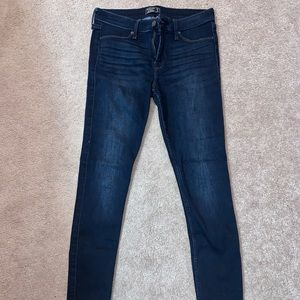 A&F  Dark wash denim jeans